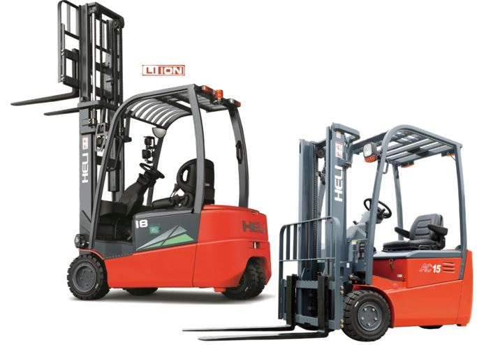 3 Wheel Electric Lithium-ion forklift