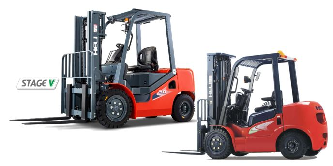H3 & G Series Counterbalace Forklifts