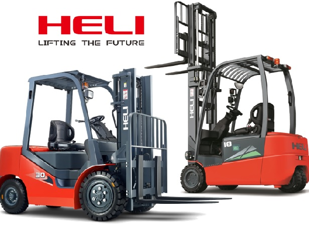 Heli Counterbalance Forklift Truck