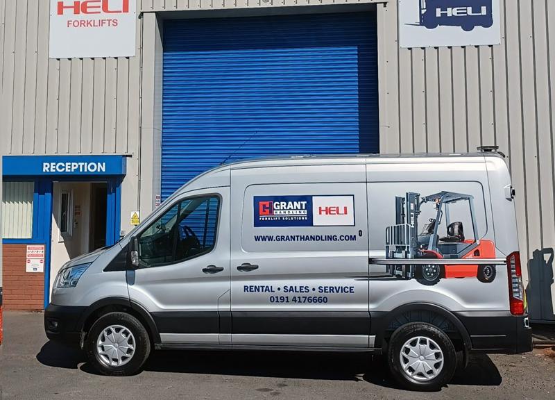 New Grant Handling Vans