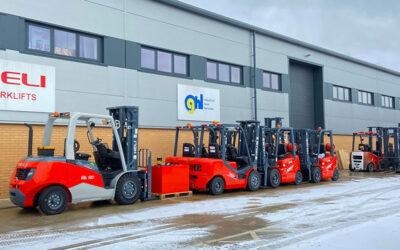 Tips for looking after your forklift this winter